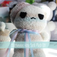 Mischievous Kitty Sock Plush DIY