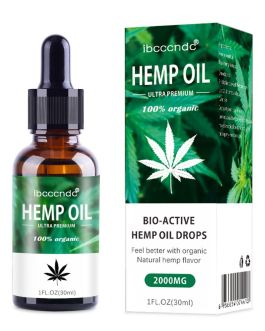 30ml 100% Organic Hemp Oil 2000mg Bio-active Hemp Seeds Oil Extract Drop for Pain Relief Reduce Anxiety Better Sleep Essence, Tienda en Linea que Acepta Crypto Bitcoin Altcoins Accepted Online Store