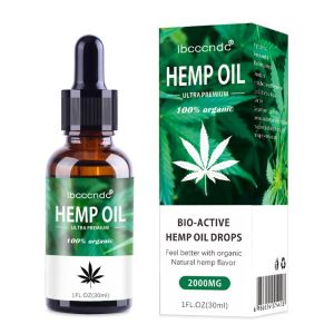 30ml 100% Organic Hemp Oil 2000mg Bio-active Hemp Seeds Oil Extract Drop for Pain Relief Reduce Anxiety Better Sleep Essence, Tienda en Linea que Acepta Crypto Bitcoin Altcoins Accepted Online Store