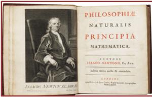 Philosophie Naturalis Principia Mathematica Isaac Newton