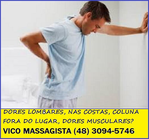Quiropraxia massagem terapêutica São José SC