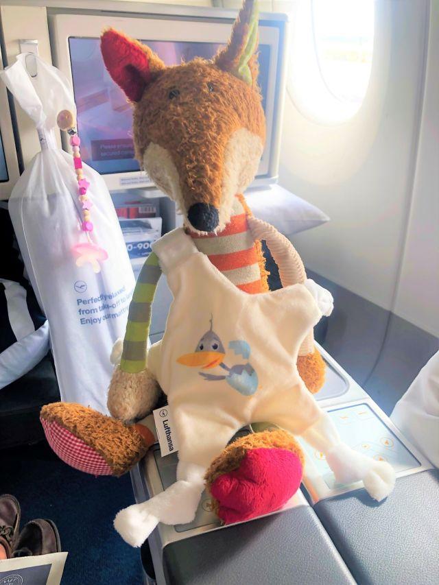 Lufthansa Spielzeug Schmusestern