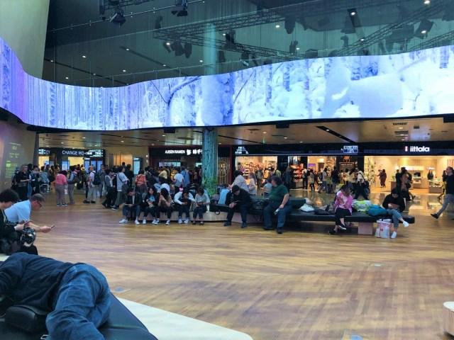Helsinki Airport Transit Bereich
