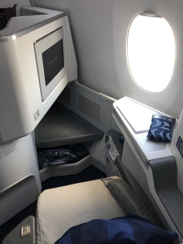 Finnair Airbus A350 Business Class Seat