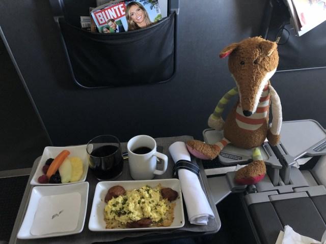 Frühstück auf dem Weg nach Kona, Big Island, Hawaii