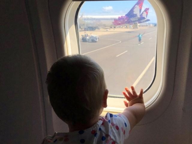 Business Class Hawaiian Airlines Boeing 717
