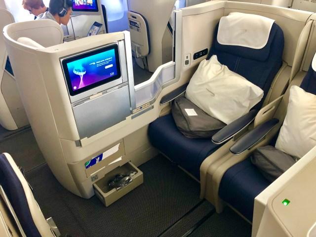 Stuhl - British Airways Business Class Seat 20 E,F