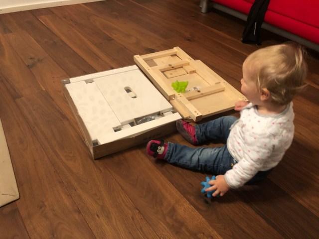 IKEA Hocker  Bekväm und Oddvar sind Basis für einen Lernturm