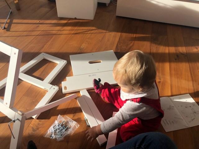 Ikea Bekvär - achtet genau auf die Ausrichtung der Seitenteile