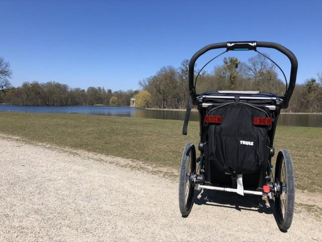 Thule Chariot Sport der Rollstuhl mit großen Rädern für maximale Lauffreude
