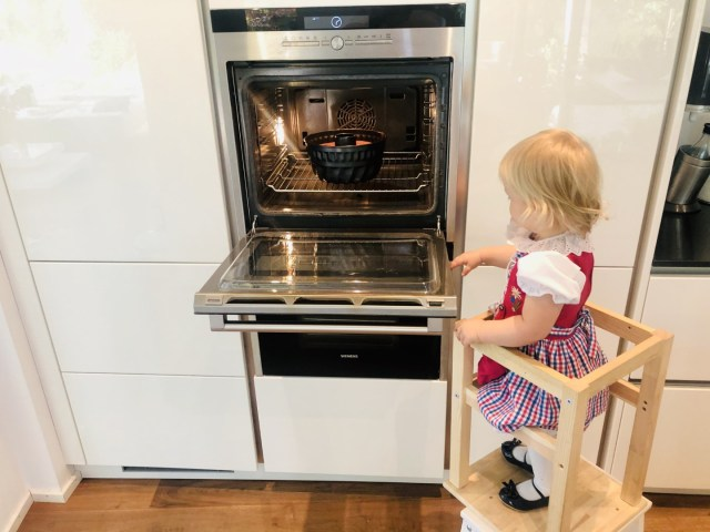 Nach 2 Stunden im Ofen ist der Gugelhupf fertig gebacken