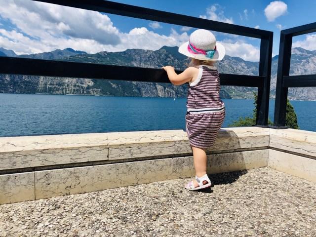 Abhängen am Gardasee