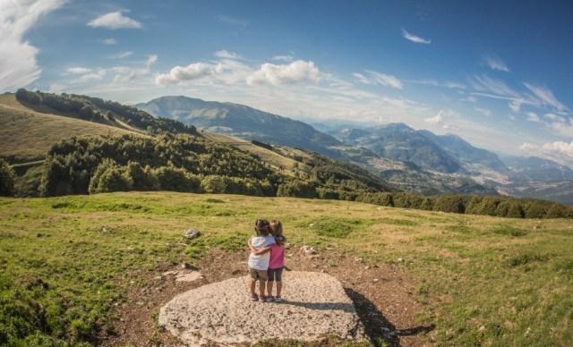 Wandern mit Kind am Monte Baldo