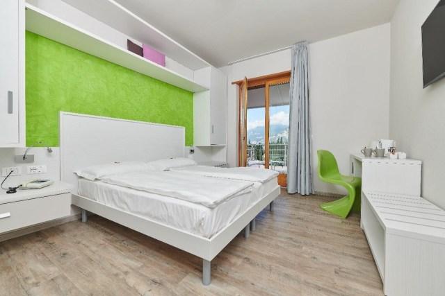 Modernes Design im Hotel Bernacus Malcesine am Gardasee