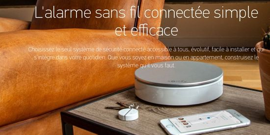 alarme connectée somfy home alarm