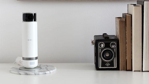 bosch smart camera intérieur wifi surveillance rotative