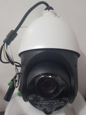 hikvision camera ptz tuto installation