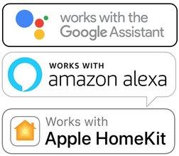 domotique alexa google home homekit apple