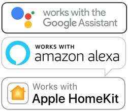 domotique alexa google home homekit apple