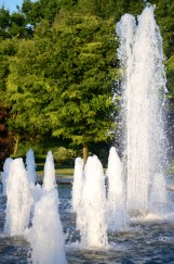 Queen Elizabeth Park fountain