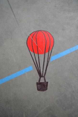 hot air balloon small