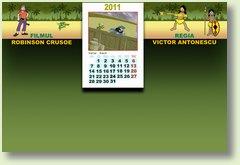 Calendar 2011 martie Robinson