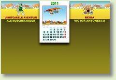 Calendar iunie 2011 Muschetari