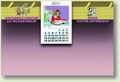 Calendar iulie muschetari