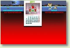 Calendar noiembrie muschetari