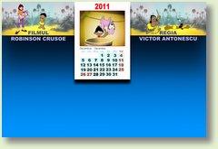 Calendar decembrie Robinson