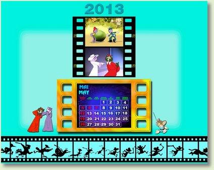 calendar mai 2013
