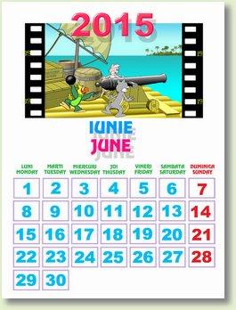 Calendar iunie 2015
