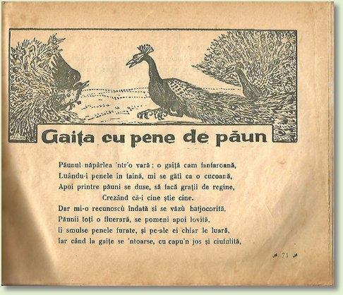 A GAITA CU PENE DE PAUN