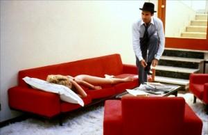 "A shot from ""Contempt,"" My favourite Jean-Luc Goddard film, released in 1963 starring Brigitte Bardot."