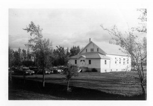 Glenlea Mennonite Church Sunday morning, once upon a time.
