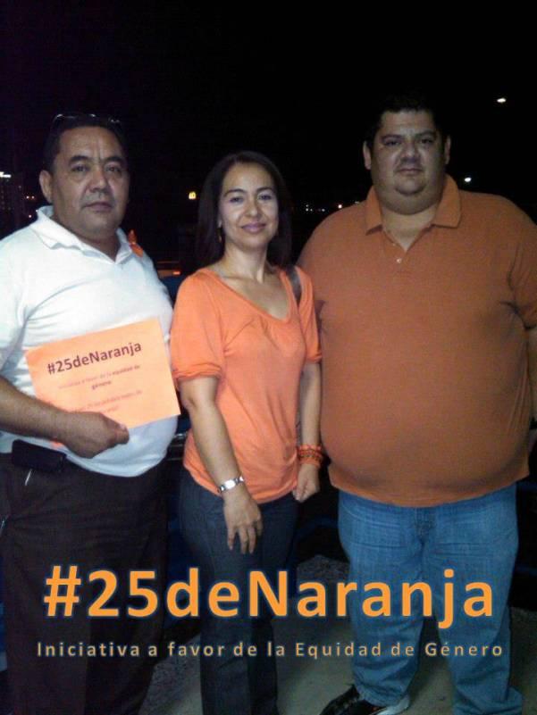 Docentes UNIDEP Miramar participan en #25deNaranja