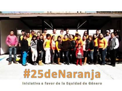 Instituto Alejandría Guadalupe Victoria, Dgo. participante en #25deNaranja