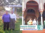 Mamá y papá en Oaxaca y en Distrito Federal.
