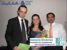 Sandra Maliká y Rodrigo Elorduy en ULSA Noroeste con Víctor Flint Flores Hernández.
