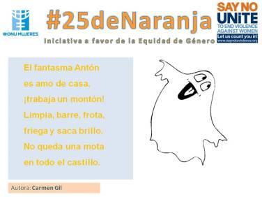 #25deNaranja -poemas sobre la equidad- 1