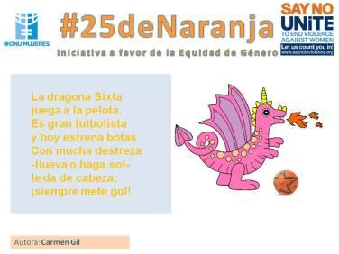 #25deNaranja -poemas sobre la equidad- 2