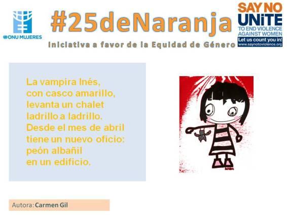#25deNaranja -poemas sobre la equidad- 4