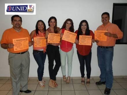 Participantes 3era. Generación Maestría en Administración de Negocios apoyan #25deNaranja.