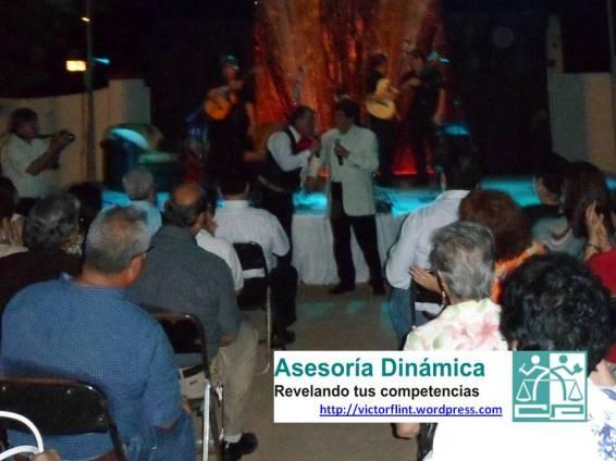 Humberto Cravioto y Valente Pastor en concierto.