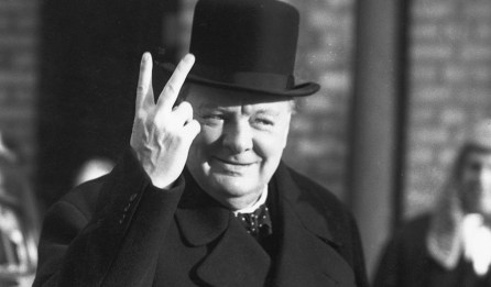 Churchill in November, 1942 (Reg Speller/Getty)