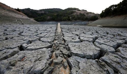 Almaden Reservoir in San Jose, Calif. (Justin Sullivan/Getty)