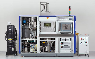 Внутреннее строение 3D принтера SLM 280HL