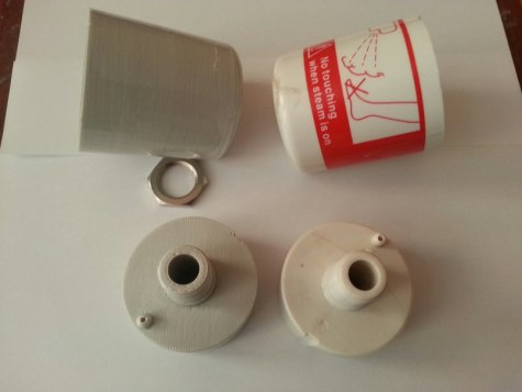 3D-печать в бытовом ремонте. Напечатанный фитостакан