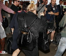 Mary-Kate Olsen Carries Nearly $80,000 Worth of The Row Alligator Bags Through the Airport