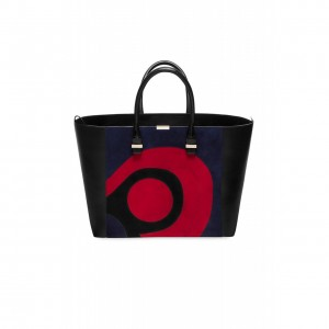 Victoria Beckham Abstract Graphic Liberty Tote as seen on Victoria Beckham